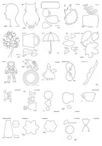 Szablony Do Prac Plastycznych Prace Plastyczne Dla Dzieci