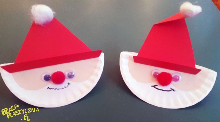 10 pomysłów na wykonanie Mikołaja i nie tylko - Prace plastyczne dla dzieci