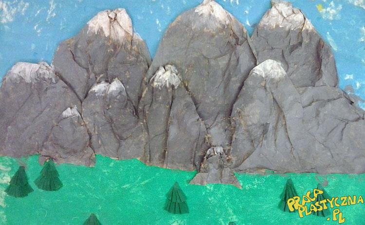 Góry - Prace plastyczne dla dzieci