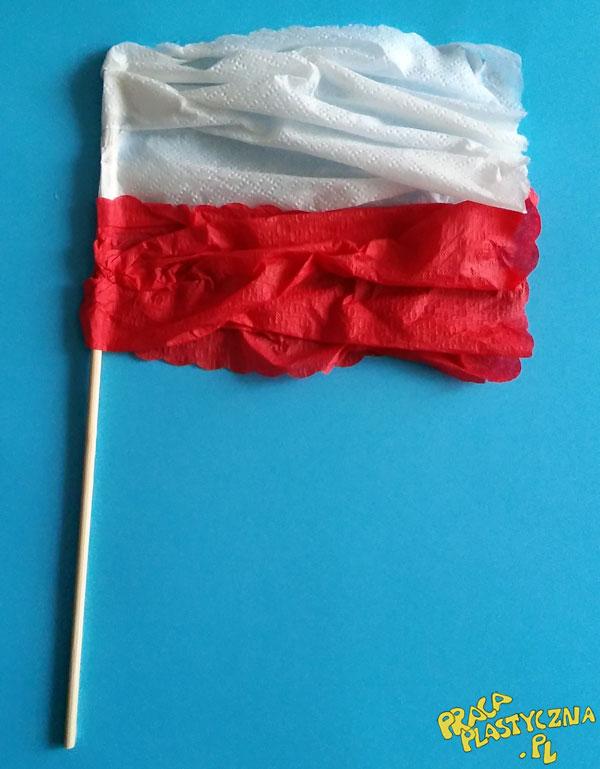 Flaga - Prace plastyczne dla dzieci