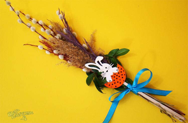 Palma wielkanocna - Prace plastyczne dla dzieci