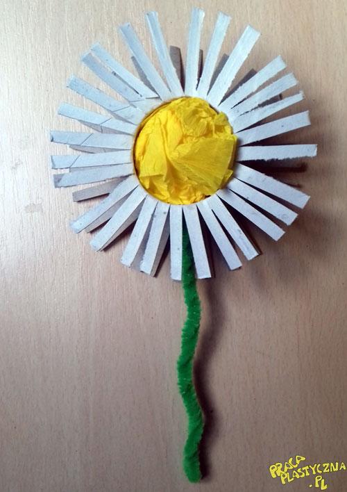 Stokrotka - Prace plastyczne dla dzieci