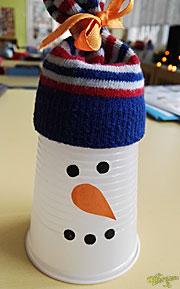 Zima - Prace plastyczne dla dzieci