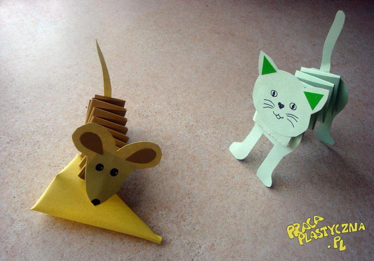 Kotek I Myszka Prace Plastyczne Dla Dzieci
