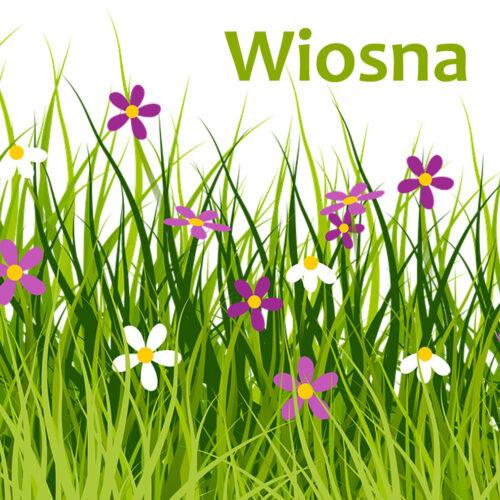 Wiosna – szablony