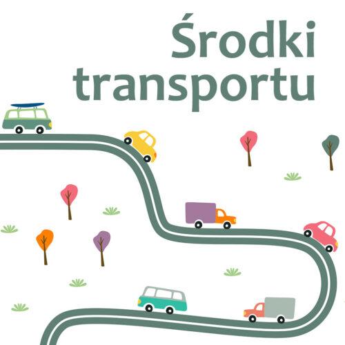 Środki transportu – szablony